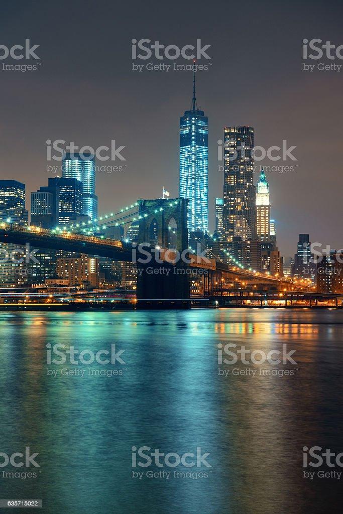 Manhattan Downtown royalty-free stock photo