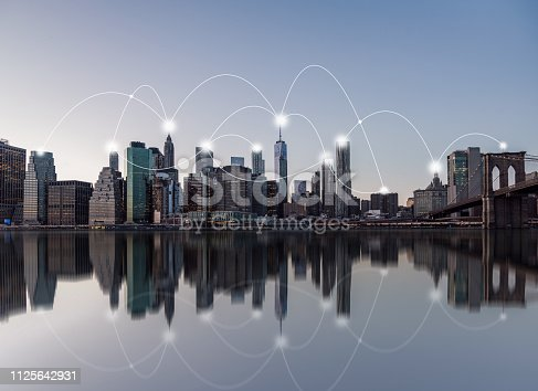 istock Manhattan Downtown Skyline 1125642931