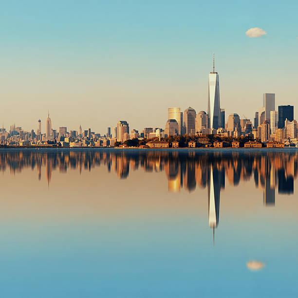 Manhattan skyline der Innenstadt – Foto