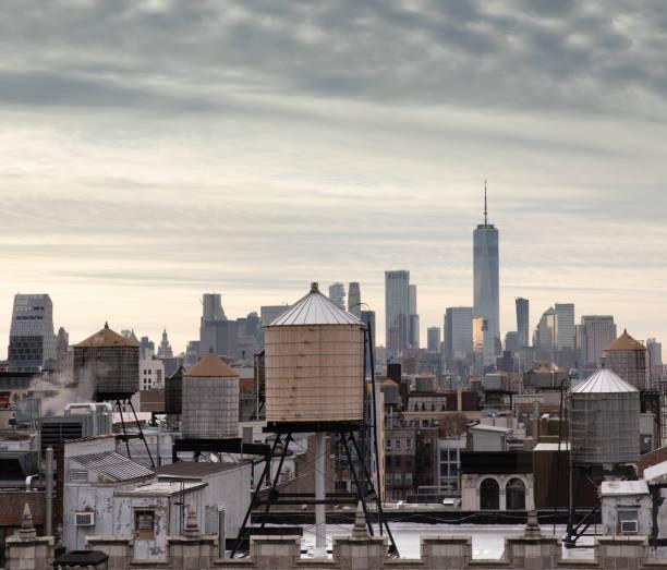 Manhattan Downtown Views stock photo