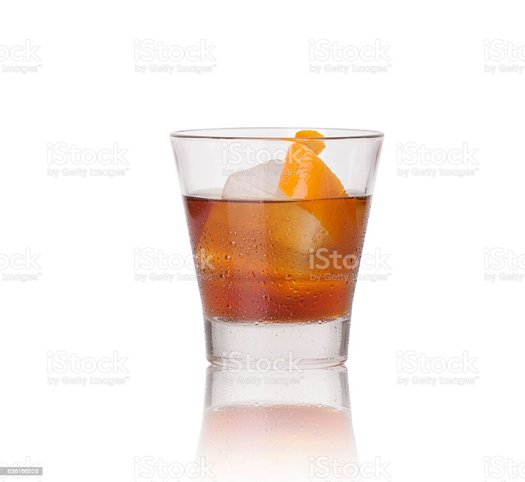 Manhattan Drink stock photo