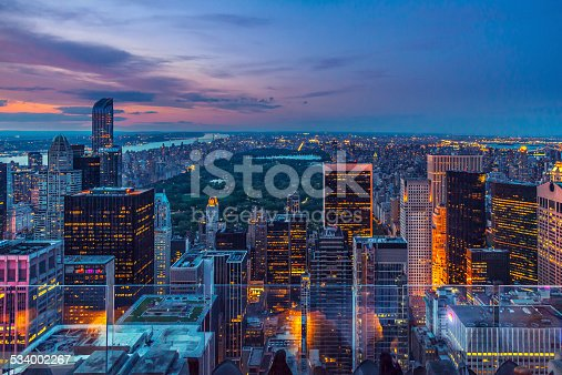 istock Manhattan from the top 534002267