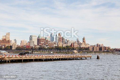 istock Manhattan Heliport in New York City 1309318501