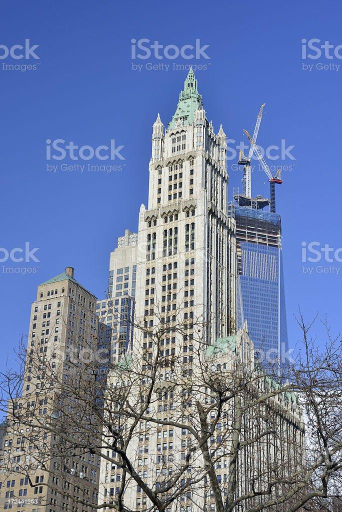 Manhattan in New York royalty-free stock photo