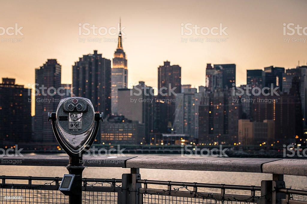 Manhattan Lookout stock photo