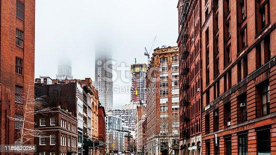 Streets of Manhattan, New York, NY, USA