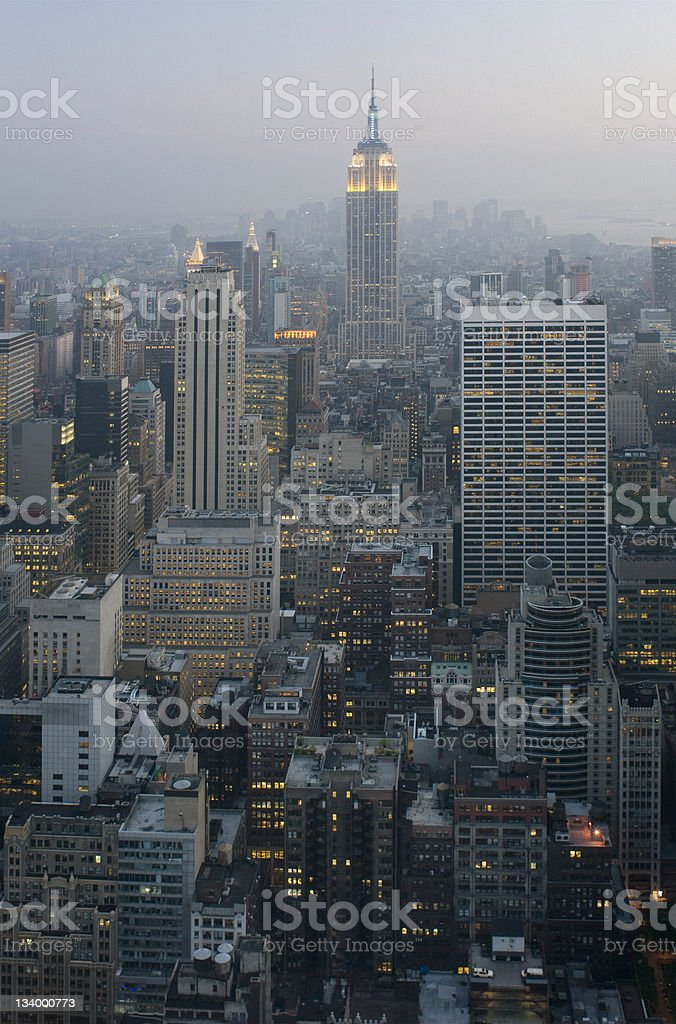 Manhattan New York City royalty-free stock photo