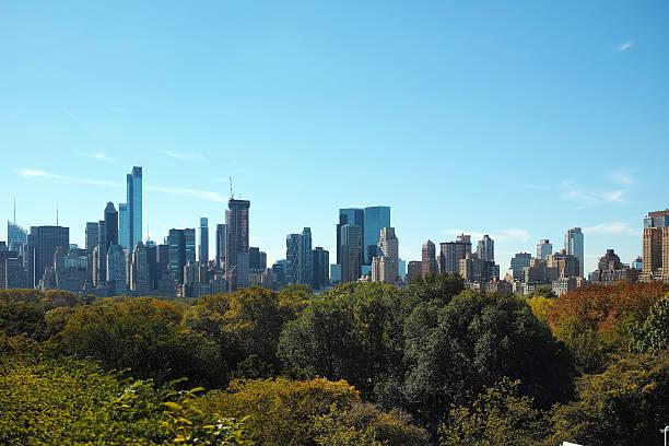 Manhattan - New York Cityscape 2016 stock photo