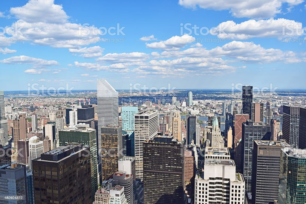 Manhattan New York stock photo