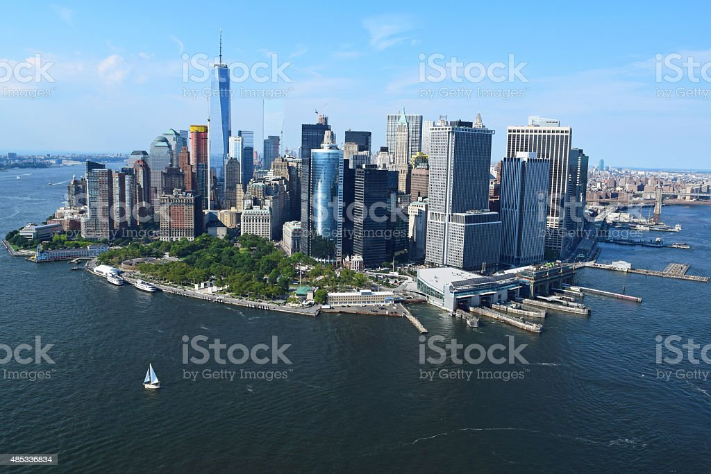 Manhattan, New York stock photo
