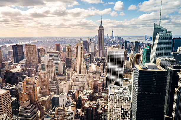 manhattan, new york (usa) - empire stock pictures, royalty-free photos & images