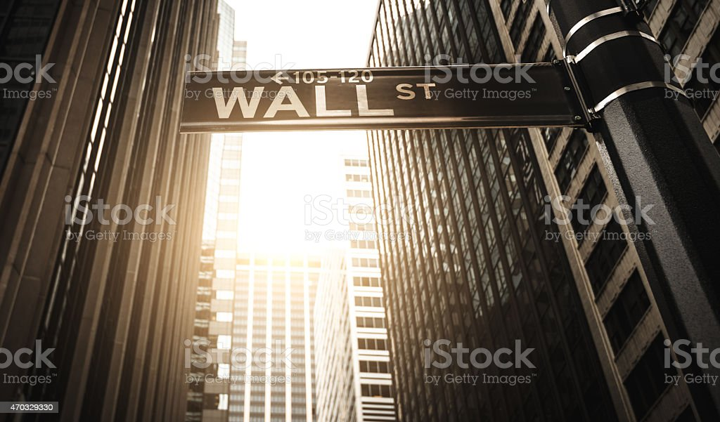 manhattan office building stock photo