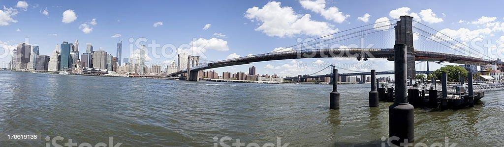 Manhattan Panorama royalty-free stock photo