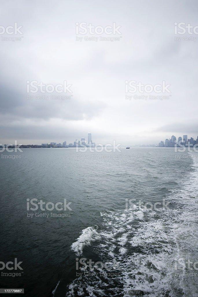 Manhattan Sea View royalty-free stock photo