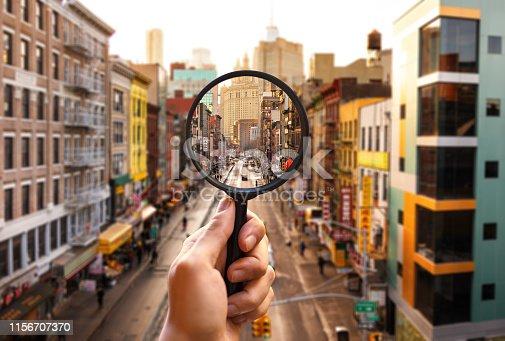 Manhattan searching