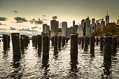 manhattan skyline from brooklyn