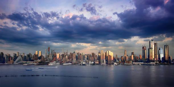 Manhattan Skyline von New Jersey, New York City – Foto