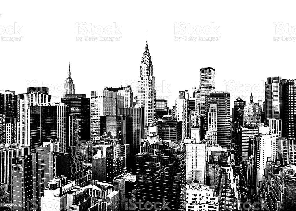 Skyline von Manhattan, New York City – Foto
