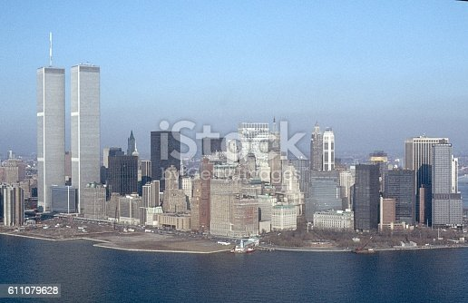 istock Manhattan skyline, N.Y.C. 1984 611079628