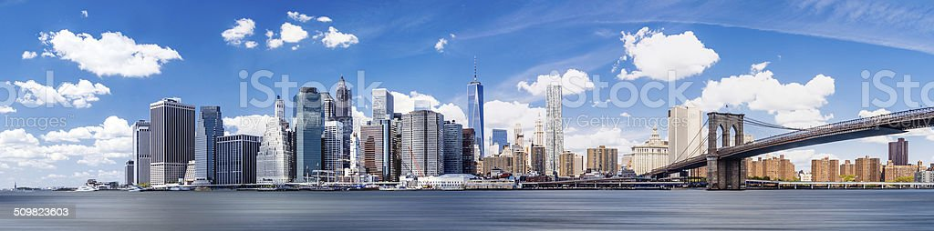 skyline von Manhattan – Foto