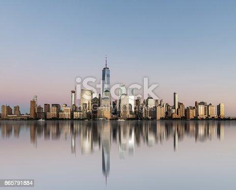 istock Manhattan Skyline 865791884