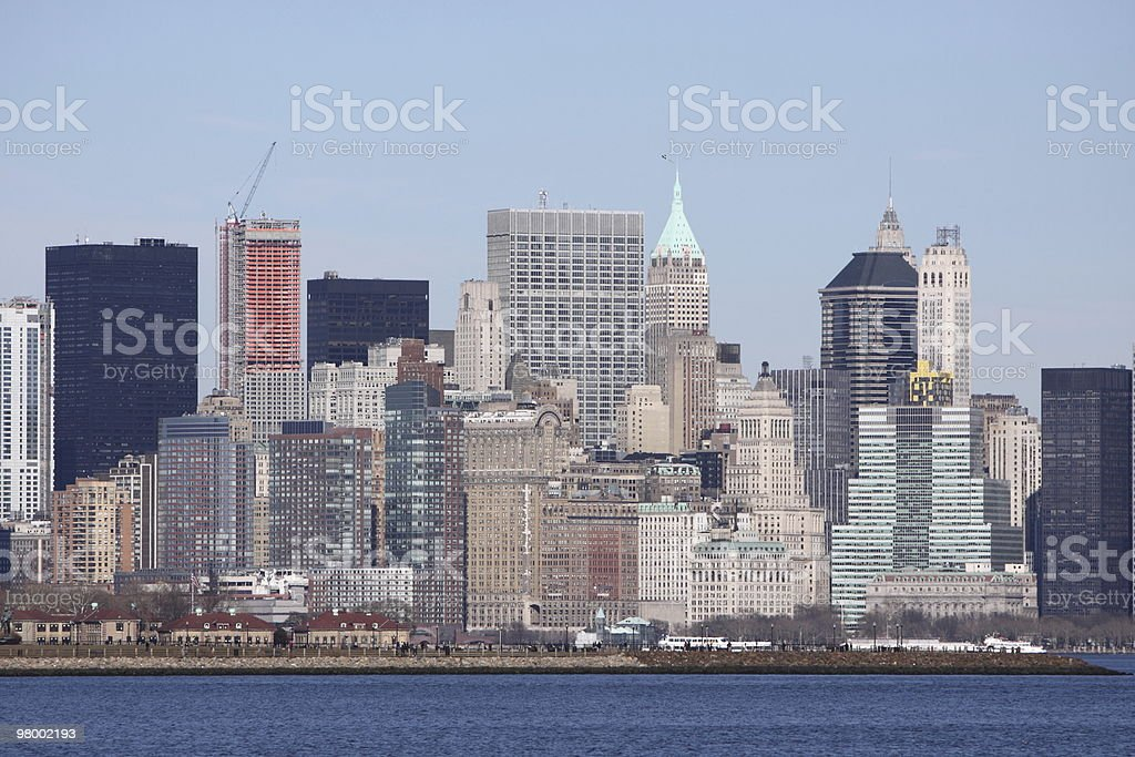 Horizonte de Manhattan foto royalty-free
