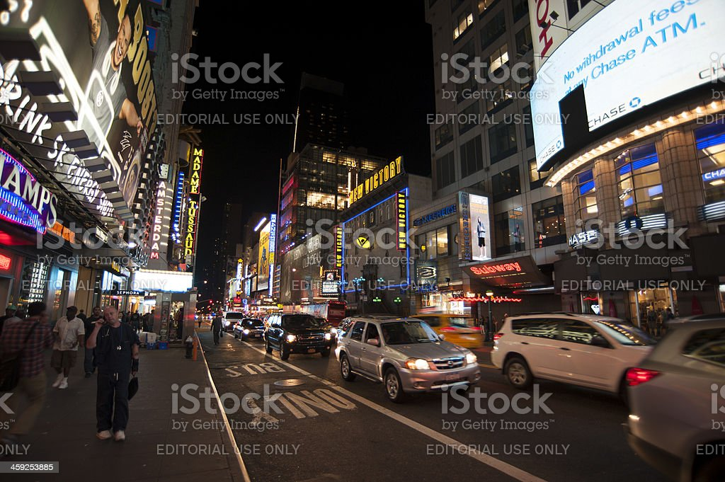 Manhattan Streets royalty-free stock photo