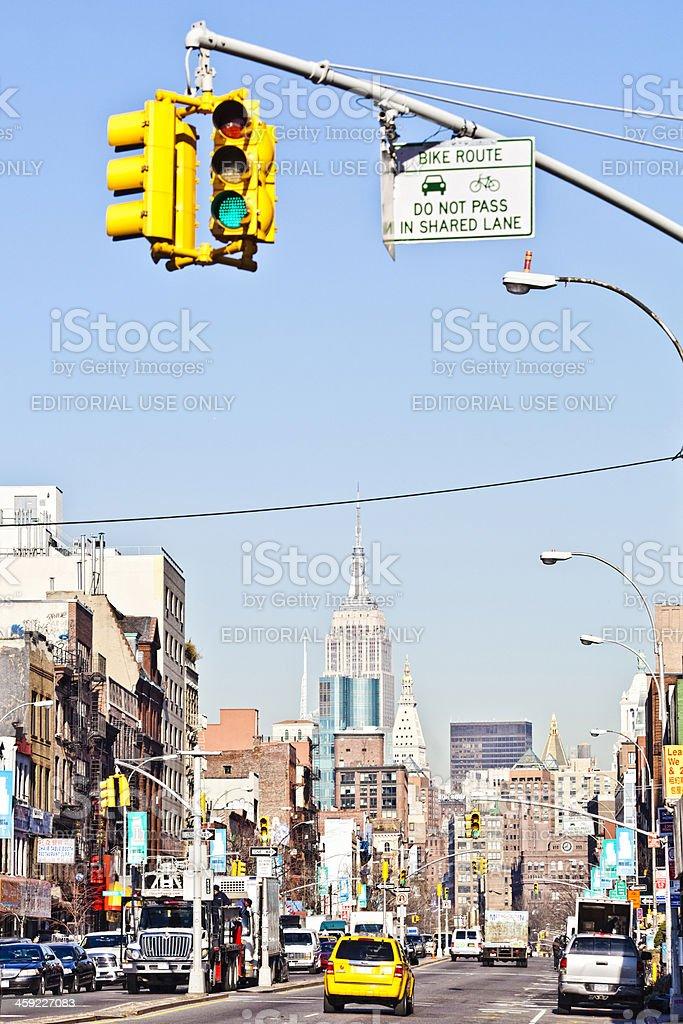 Manhattan Verkehr. – Foto