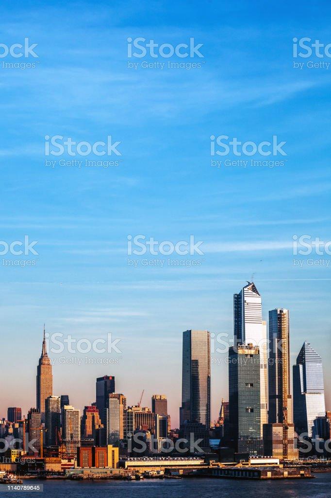 Manhattan view, New York City stock photo