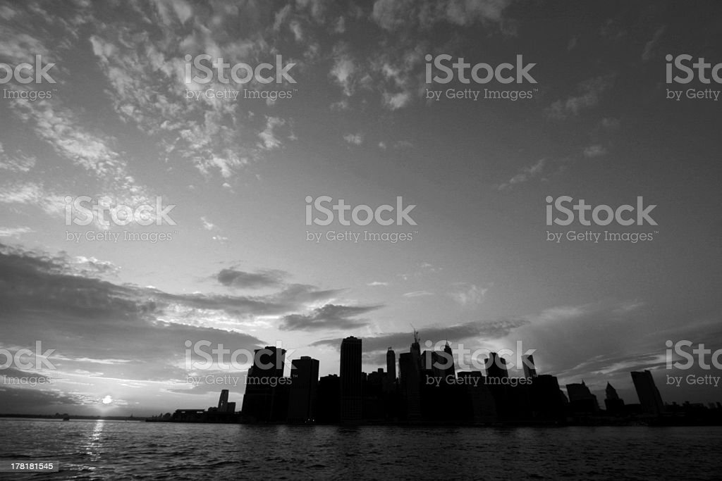 Manhattan view, New York, USA royalty-free stock photo