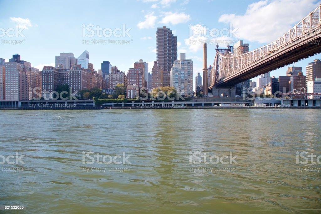 Manhattan Waterfront stock photo
