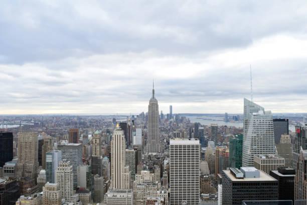 Manhatten New York stock photo