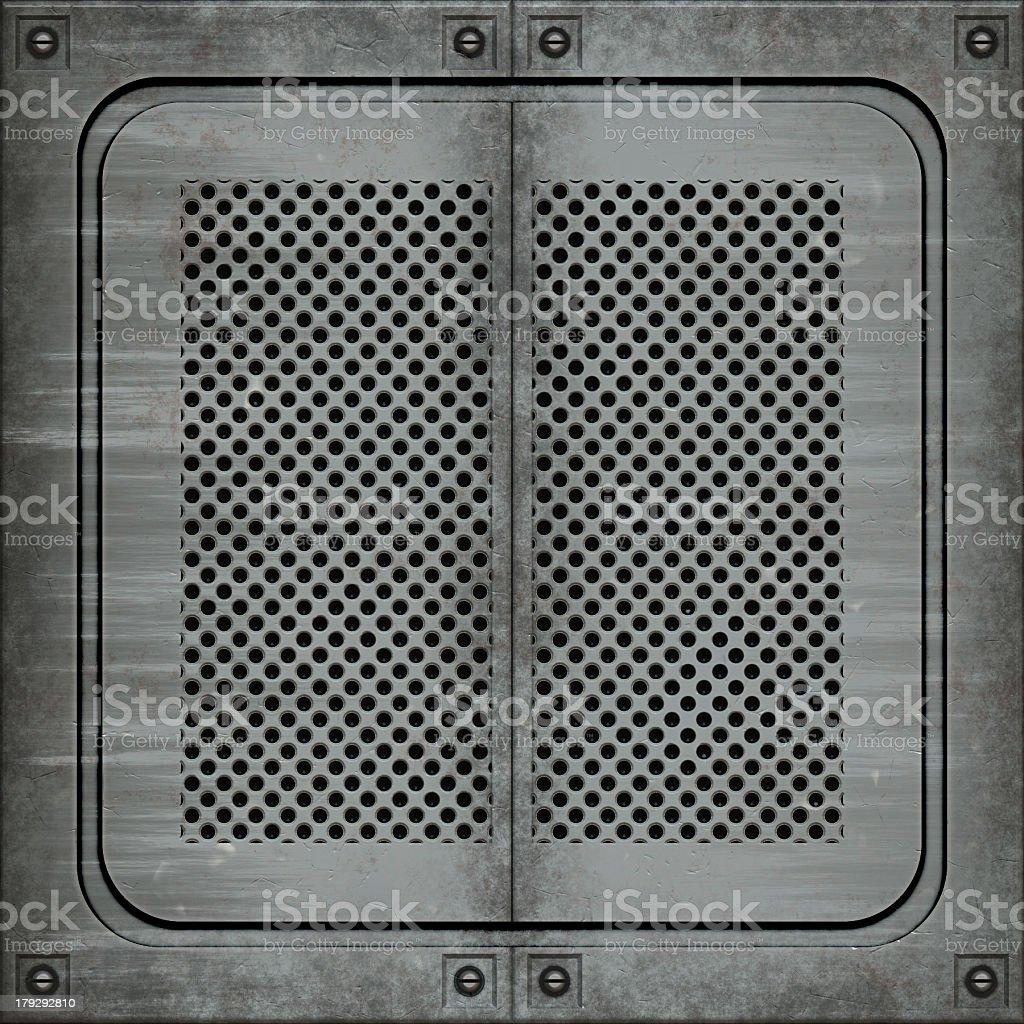 Manhole cover (Seamless texture) stock photo