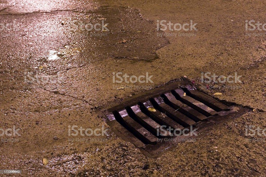 manhole royalty-free stock photo