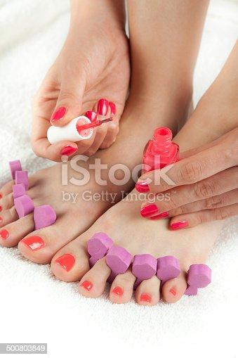 istock manicure and pedicure 500803849