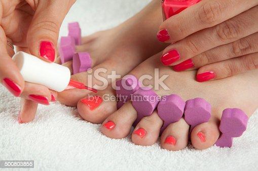 istock manicure and pedicure 500803855