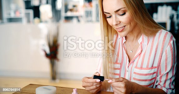 1147741037 istock photo Manicure - Beautiful manicured woman's nails 896294914