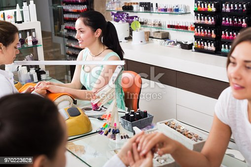 istock Manicure masters working 970223628