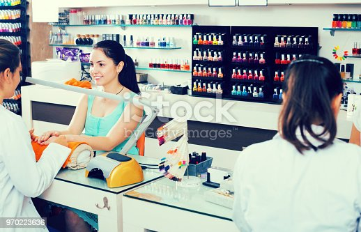 istock Manicure masters working 970223636