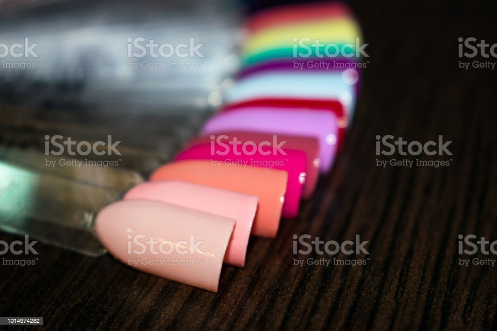Manicure Nail Color Design Samples Nail Art Handmade Samples On A