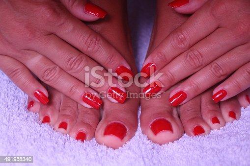 istock Manicure - Pedicure 491958340