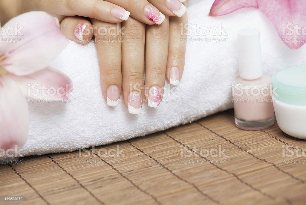 Manicure royalty-free stock photo