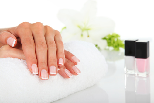 Manicure stock photo