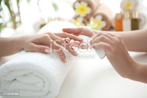 istock Manicure. 171379163