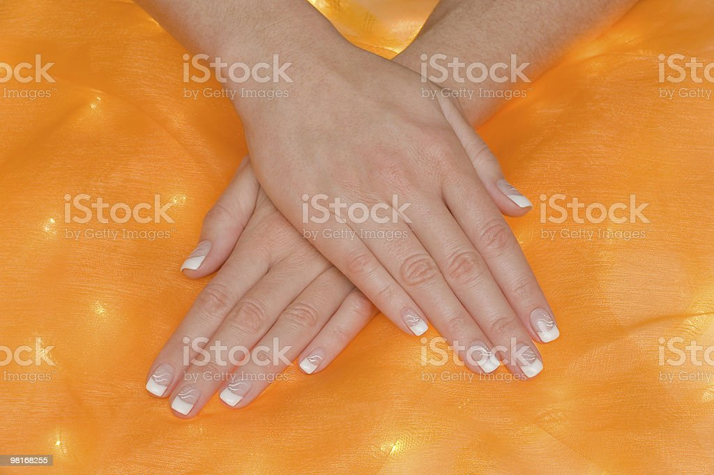 Manicure royalty-free stock photo