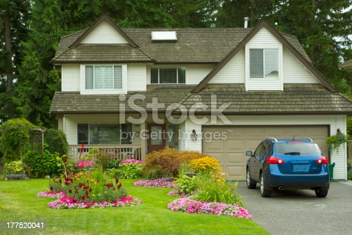istock Manicured Home and Yard 177520041