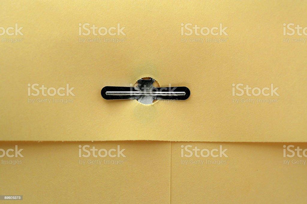 Manila envelope macro background stock photo