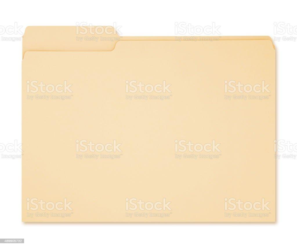 Cartera para documentos (con ruta - foto de stock