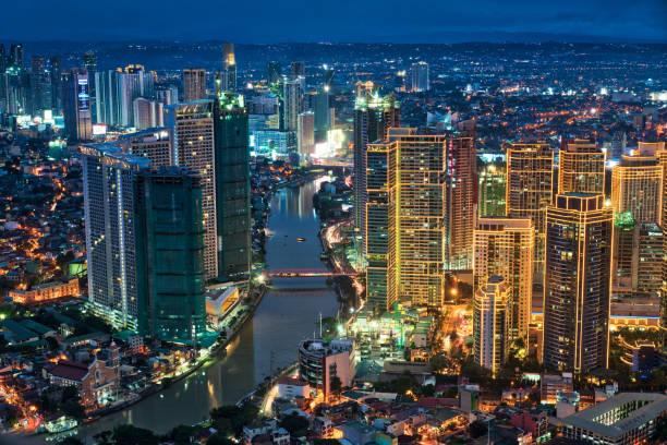 Manila Makati at Twilight