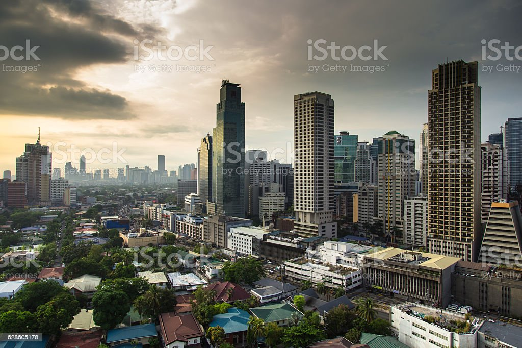 Manila Morining stock photo